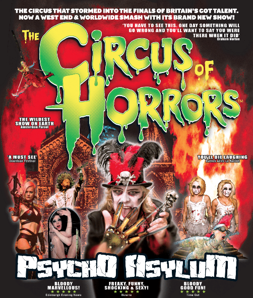 The Circus of Horrors is Back with a Bang!