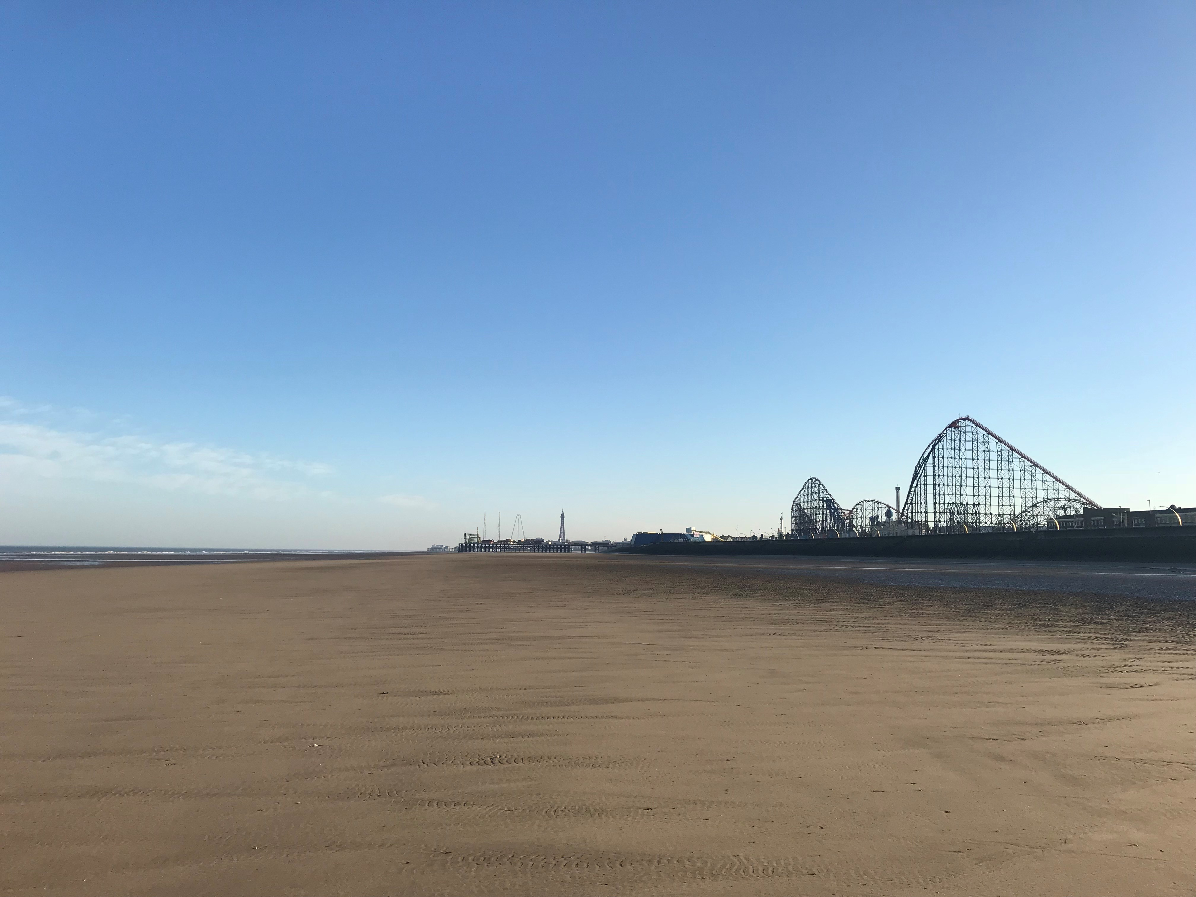 Blackpool South named as the only Blue Flag beach in the North West