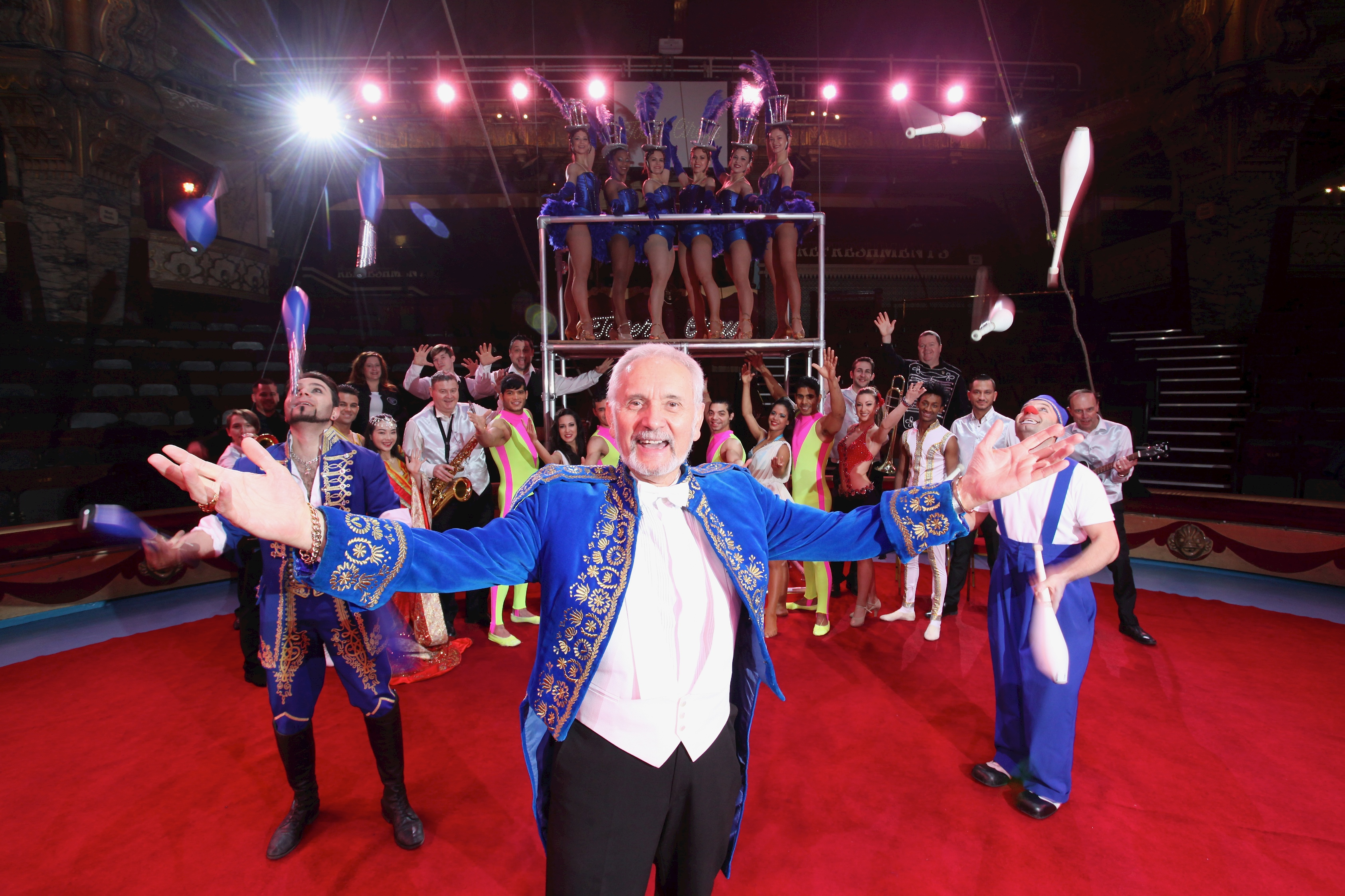 Join the parade and help celebrate 250 years of Big Top magic