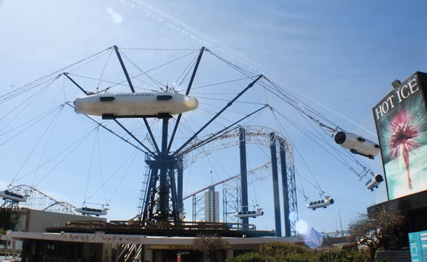 The Flying Machines at Pleasure Beach