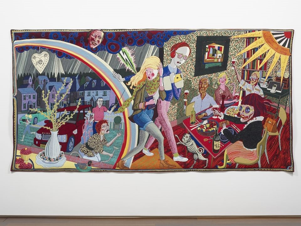 Last chance to see Grayson Perry's exhibition at Grundy Art Gallery!