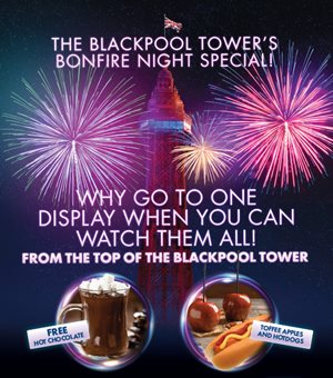 The Blackpool Tower Bonfire Special Poster
