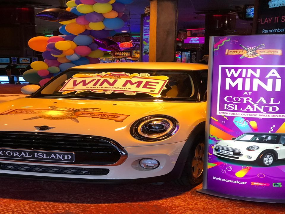 Win a Car at Coral Island this Summer!