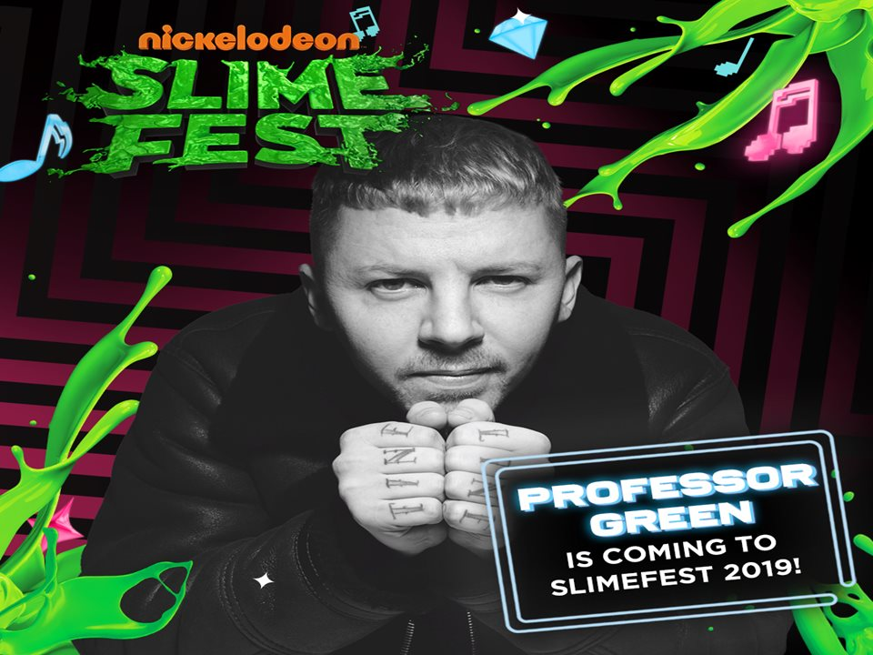 Professor Green Headlines Saturday's SLIMEFEST Extravaganza alongside Alice Chater