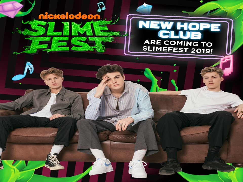 New Hope Club Join SLIMEFEST Line-Up