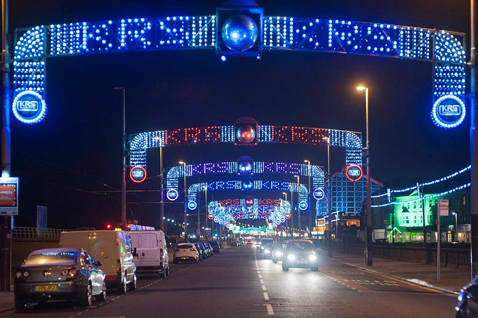 KRS Set to Shine Bright as Part of This Year's Blackpool Illuminations