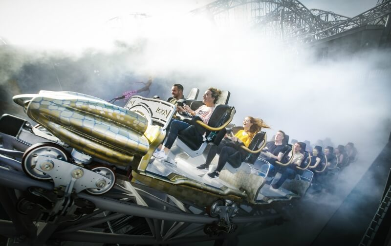Blackpool Pleasure Beach gets hearts racing