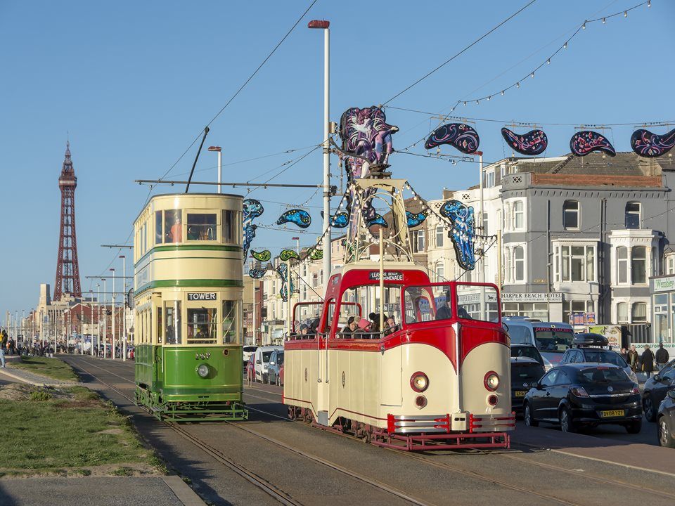 Blackpool Heritage Trams are back for August Bank Holiday Weekend