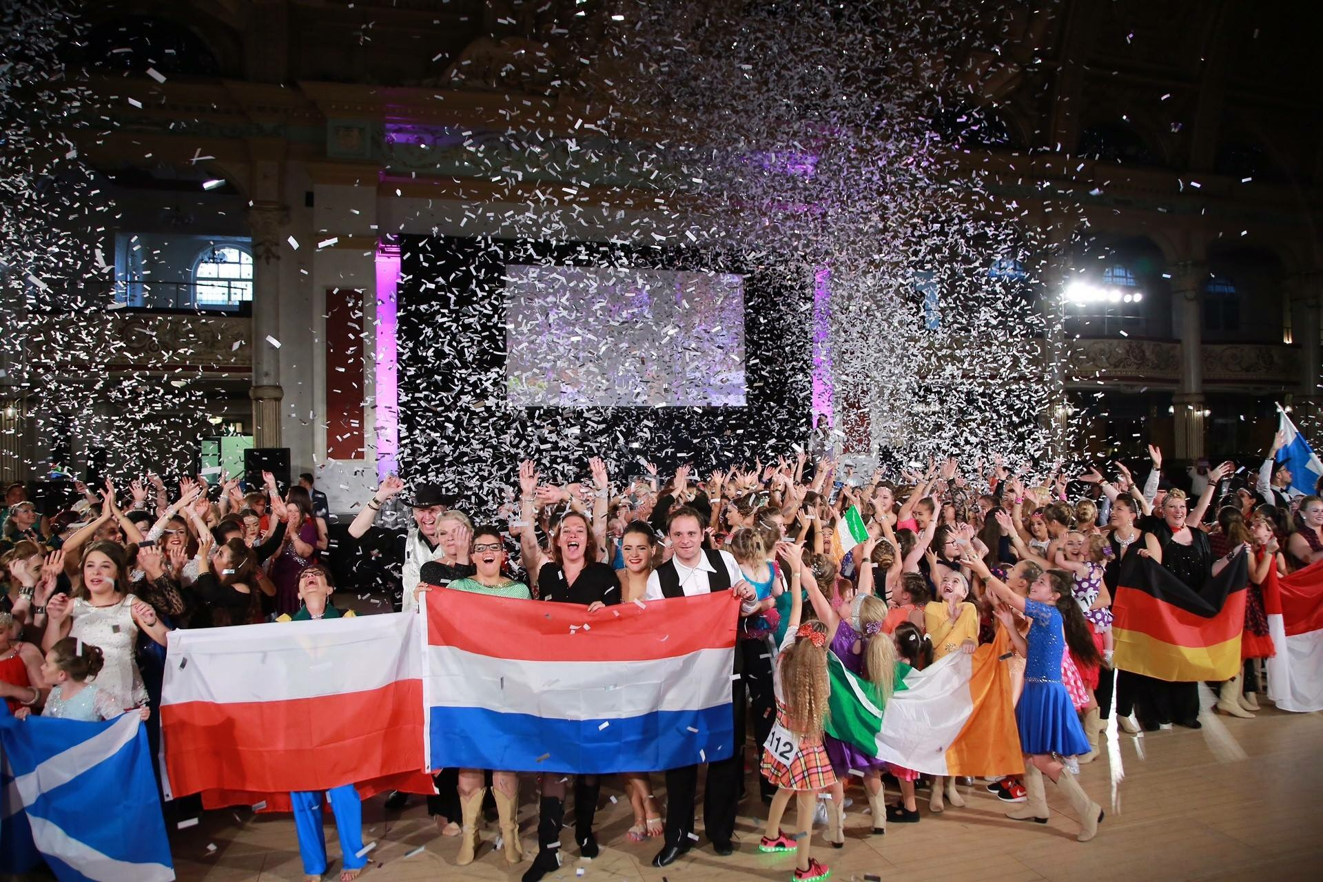 Dancers from 24 Countries Descend on Historical Blackpool Ballroom for World Dance Masters Championships