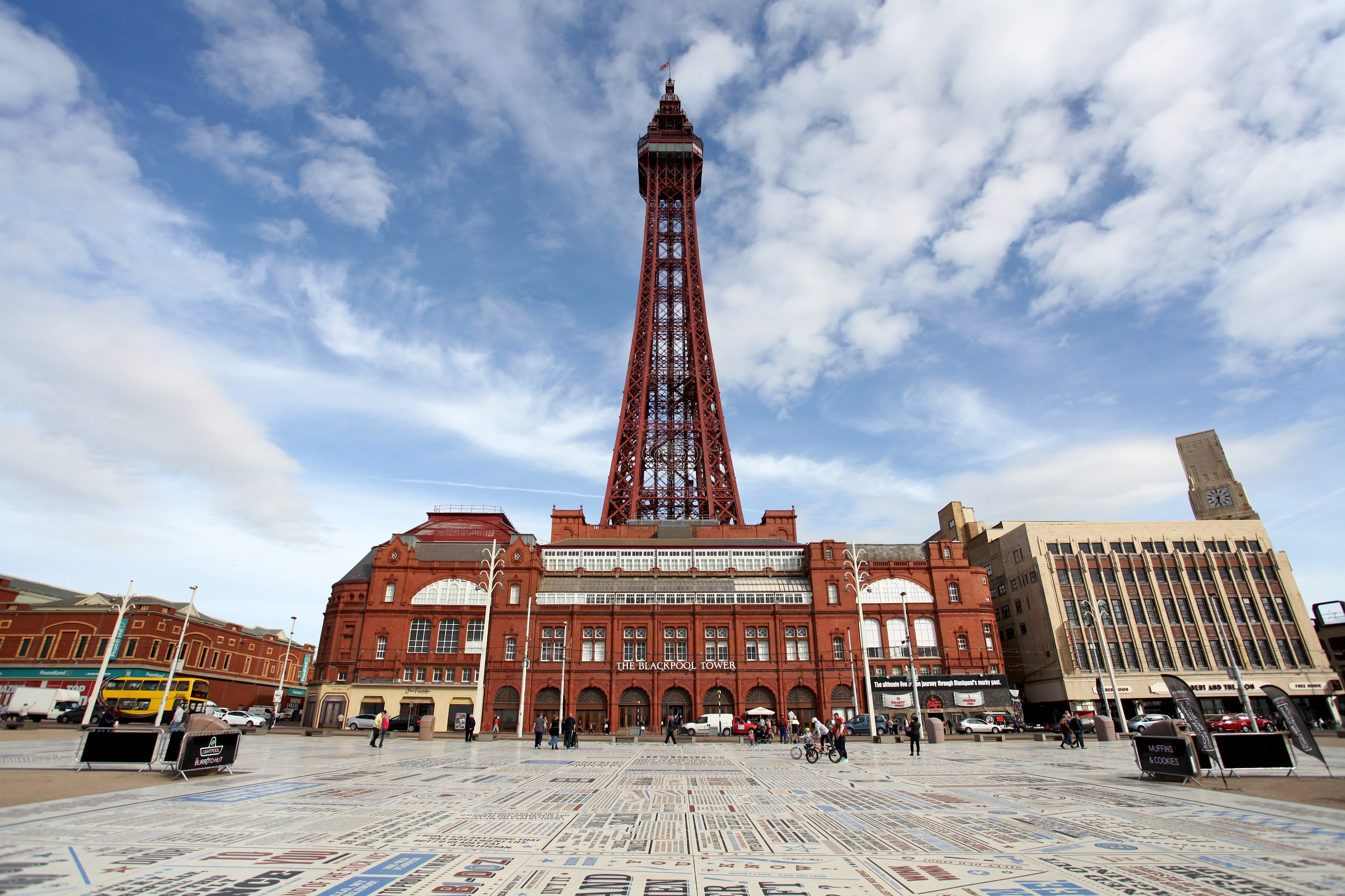 Iconic  Blackpool Tower Celebrates 125th Birthday