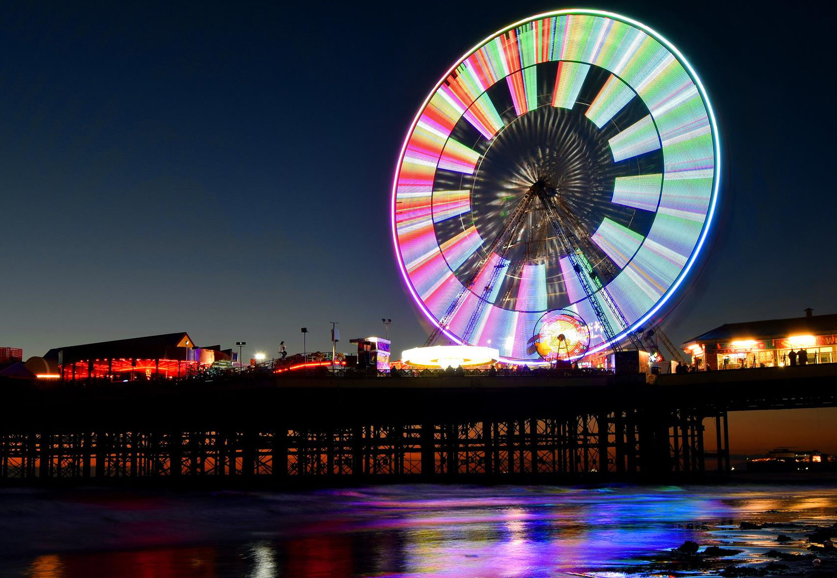 The Blackpool Pier Company Announce the Big Wheel's Brand New Light Show!