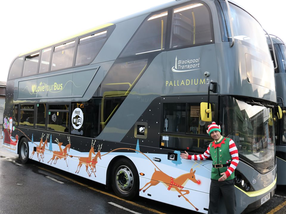 Bus Drivers Vision to Spread Christmas Joy Comes to Life