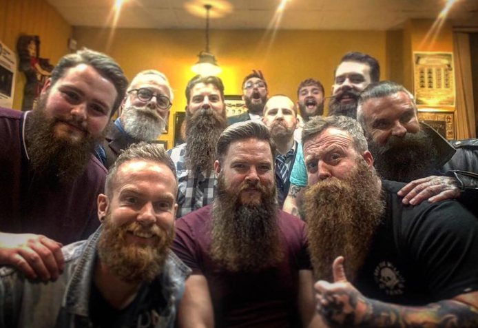 Blackpool Attracts International Beard Community . . .